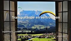 Transparantie en Vertrouwen