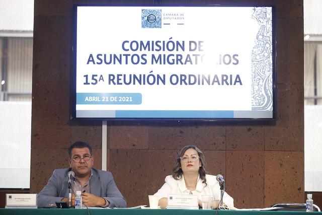 21/04/2021 Comisión De Asuntos Migratorios