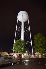 Water tower at Waldorf Volunteer Fire Department [02]