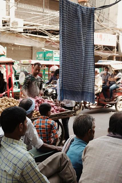 Street of Old Delhi, India.  Via Fujifilm
