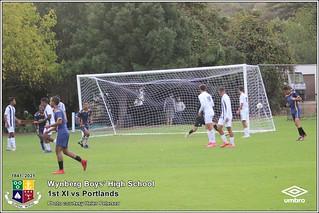 WBHS Soccer: 1st XI vs Portlands