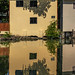 Yellow House Reflection