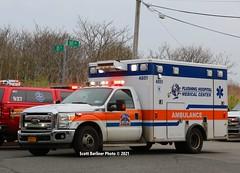 FLUSHING HOSPITAL MEDICAL CENTER EMS AMBULANCE 4851
