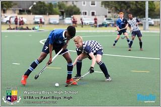 WBHS Hockey: U18A vs Paarl Boys' High School, CPL