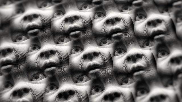 So many faces.