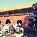 Beijing - Yonghegong Temple - Hall of Heavenly Kings - 1995