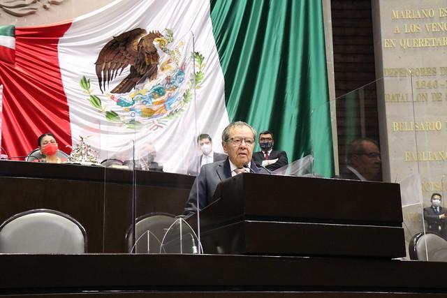 22/04/2021 Tribuna Diputado Porfirio Muñoz Ledo