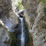 Eaton Canyon Falls in Alta Dena -355