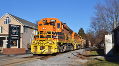 2021 03-02 1634-2 MMID SD40-2-3449, 3451 W/B UBST New Midway, MD