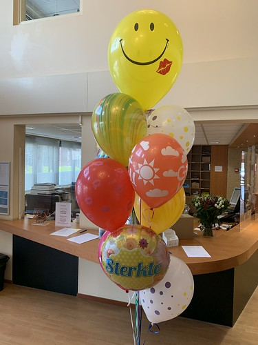 Ballonboeket Beterschap Sterkte Careyn de Vier Ambachten Spijkenisse