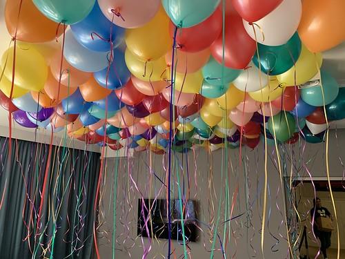 Heliumballonnen Ballonnenplafond Rotterdam Kralingen