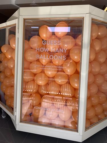 Lucht Gevulde Ballonnen Koningsdag Groot Handelsgebouw Rotterdam