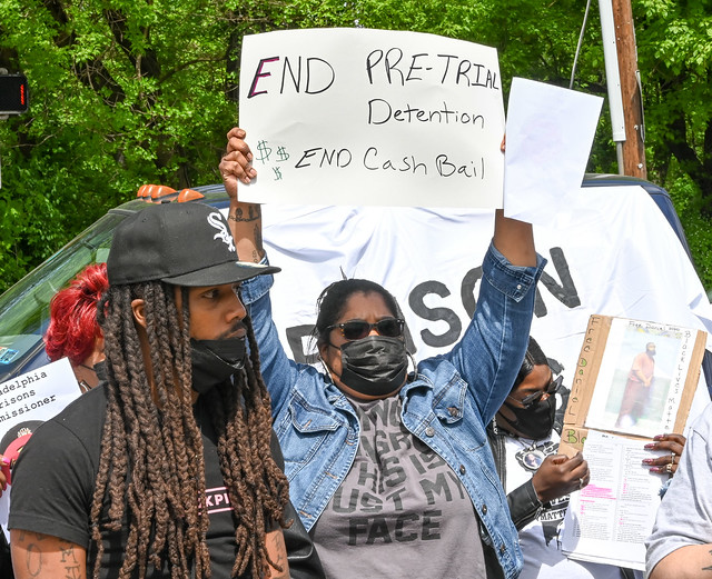 Photo:Protest against horrid conditions at Philly jails By joepiette2