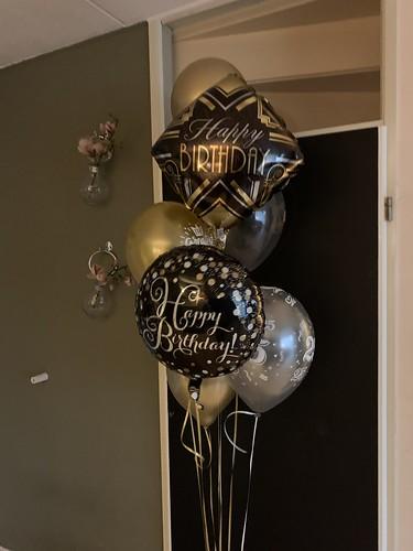 Ballonboeket Verjaardag 25 Jaar