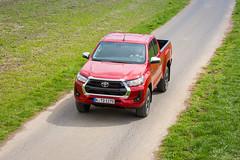 Toyota Hilux Testwagen April 2021