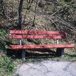 Empty Bench  (FM3a / Ektachrome)