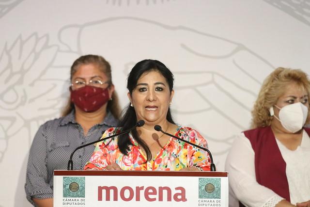 30/04/2021 Conferencia De Prensa Diputada María Eugenia Hernández