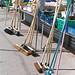 Brooms lean-to crossed-legged - © Paul Louis Archer