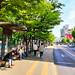 홍제역 버스정류장