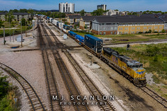 UP 8469 | EMD SD70ACe | CSX Memphis Terminal Subdivision
