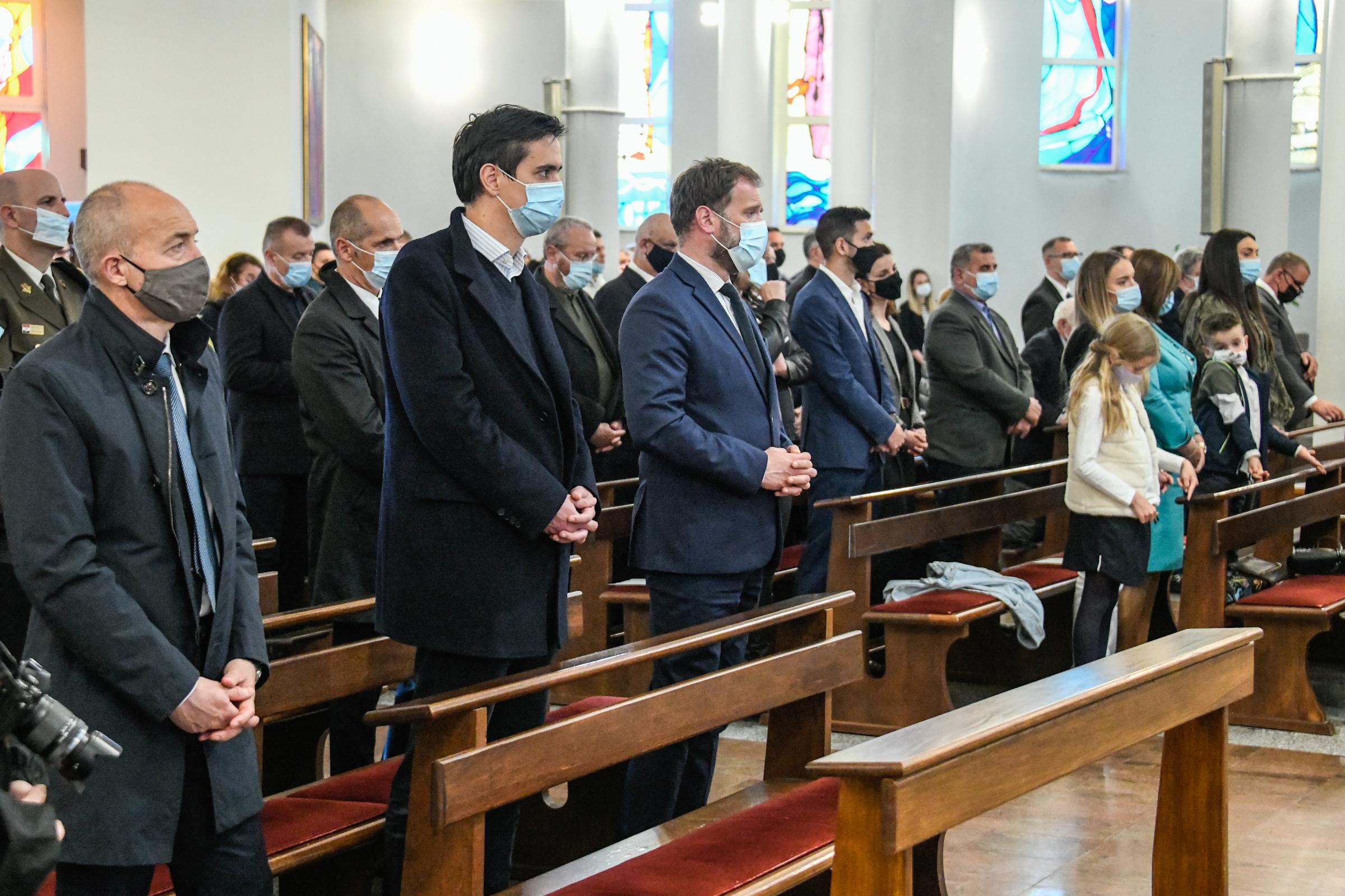 Misa zadušnica povodom 23. godišnjica smrti ratnog ministra Gojka Šuška