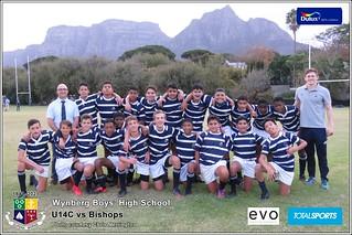 WBHS Rugby: U14C vs Bishops