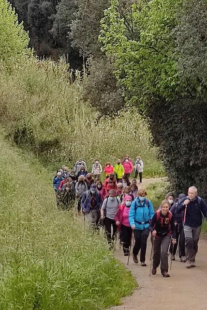 Photo:Excursió de Marxa Nòrdica - La Plana de Vilamajor 3 By Centre Europeu de Barcelona