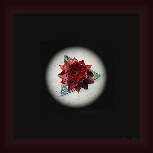Origami Rose Medallion (Shuzo Fujimoto)