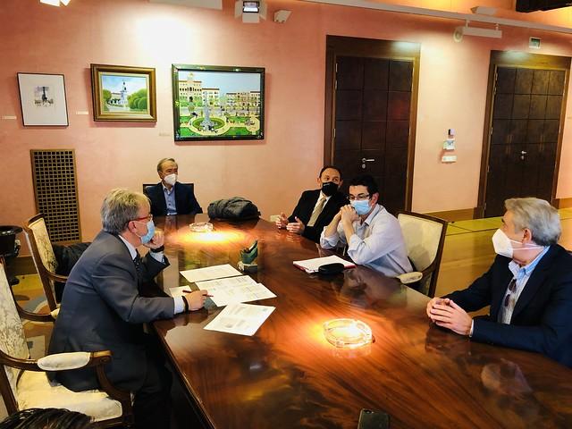 Reunión con Cáritas Zaragoza