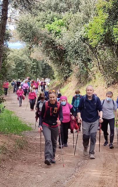 Photo:Excursió de Marxa Nòrdica - La Plana de Vilamajor 8 By Centre Europeu de Barcelona