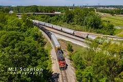 GTW 4929   EMD GP38-2   CN Harrison Yard