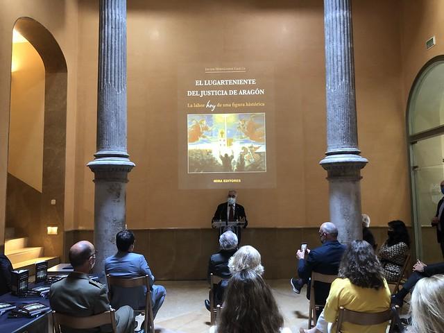 """Presentación del libro """"El Lugarteniente del Justicia"""""""