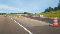 Future eastbound 269 exit ramp (onto McIngvale)