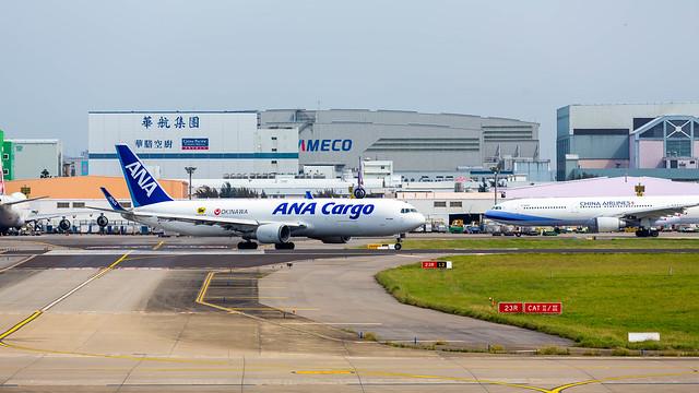 Photo:ANA Cargo B767 By Hcchiensteve