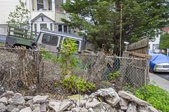 Fenced Hummer, Fox Hills