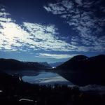 Cloud mirror  (Voigtländer Bessa R2A / Velvia 100)