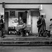 A tableau of life: railway station in Bangkok