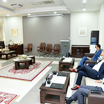 Chairman NAVTTC Visits NUTECH