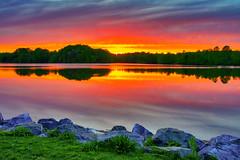 Sunset at Little Seneca Lake