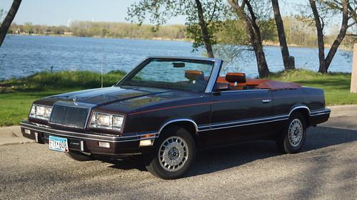 1982 Chrysler LeBaron Medallion Convertible (Mark Cross Edition)