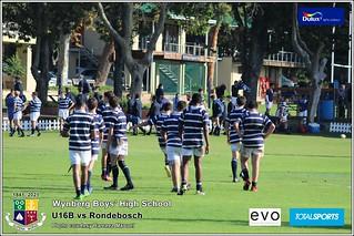 WBHS Rugby: U16B vs Rondebosch, Album I