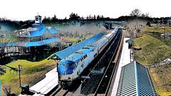 Amtrak 1 @ Woodbridge VA (2016)
