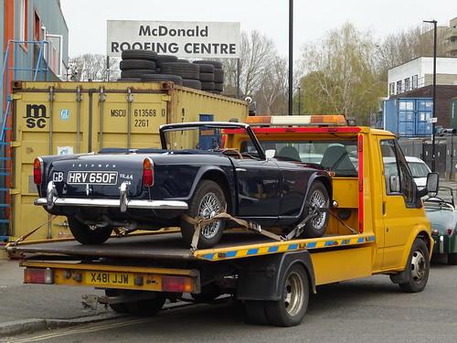 1967 Triumph TR4A IRS