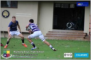 WBHS Rugby: 1st XV vs Rondebosch, Album II