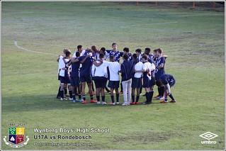 WBHS Soccer: U17A vs Rondebosch