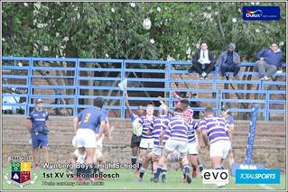 WBHS Rugby: 1st XV vs Rondebosch, Album IV