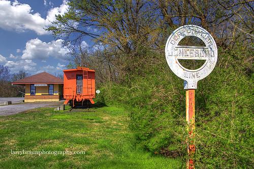 Gulf, Mobile and Ohio Depot Jonesboro Illinois