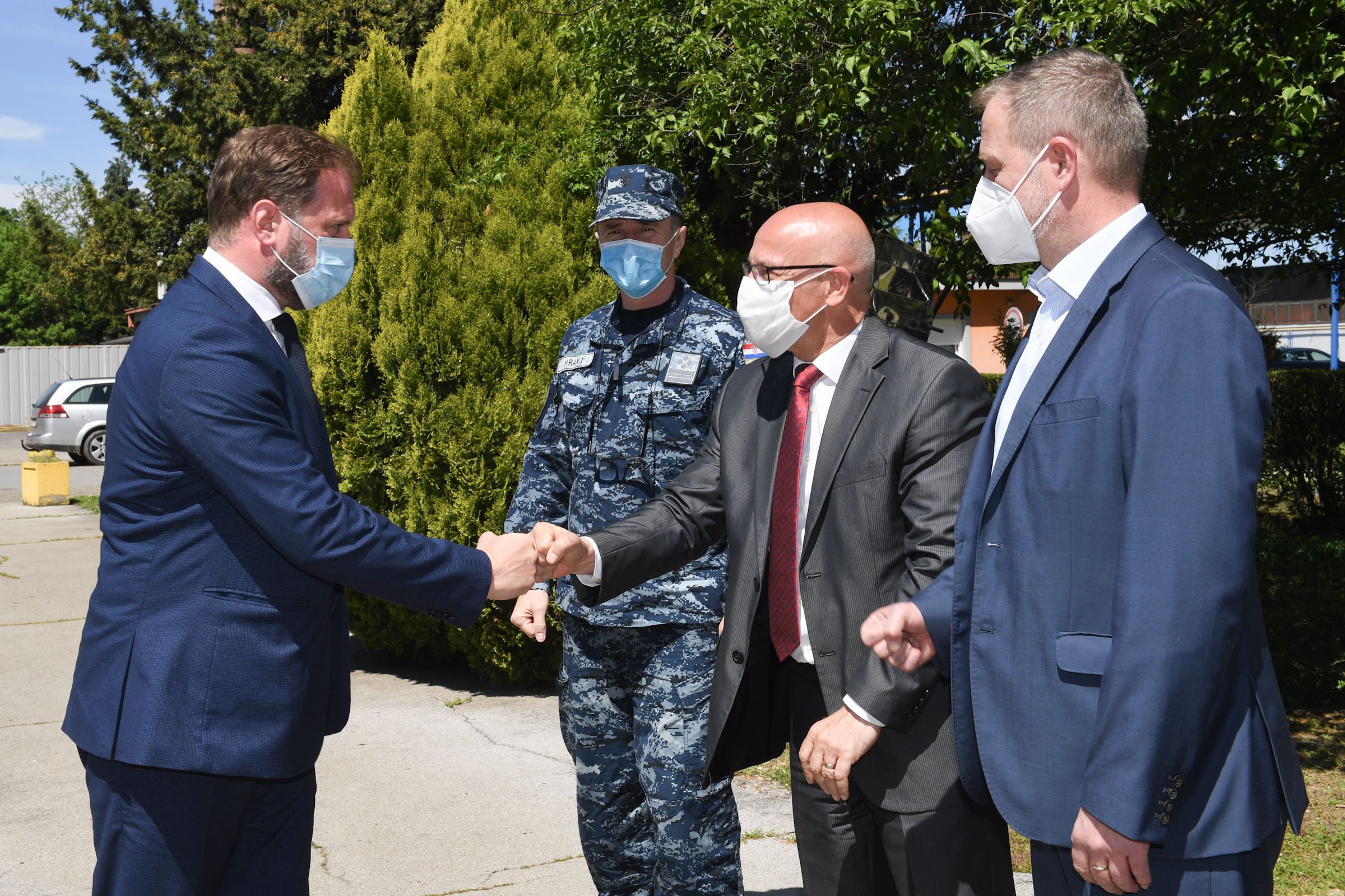Ministar Banožić s predstavnicima tvrtke