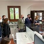 10-5-2021 El President Enric Morera visita l'Alquería Julià- Casa de la Música, nova seu de les societats musicals valencianes.