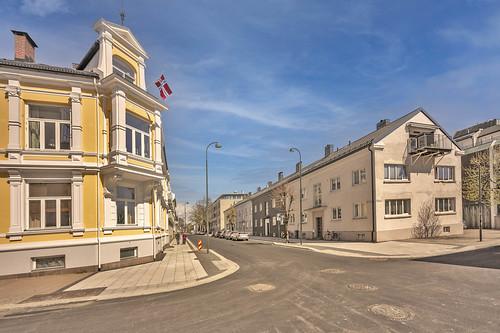 Østre Strandgate. Kristiansand, Norway